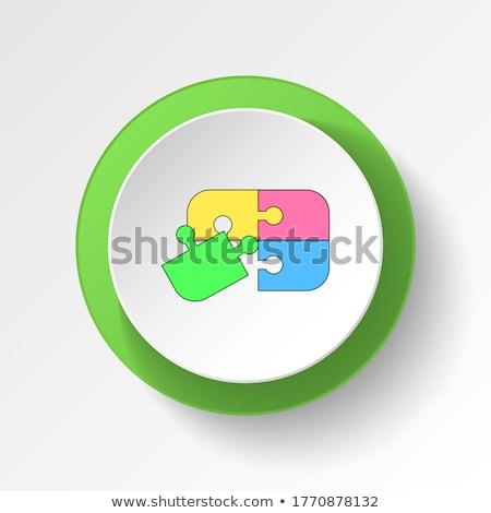 Airplane Sign Vector Button Icon Stock photo © rizwanali3d