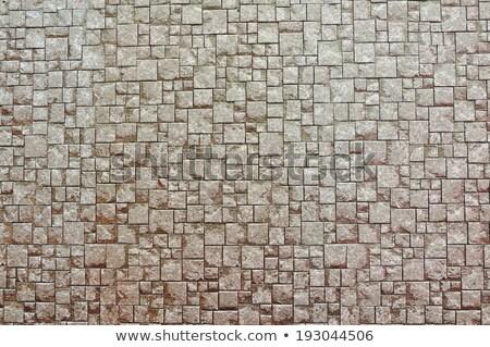 Bruk cegły brązowy szary bezszwowy tekstury Zdjęcia stock © tashatuvango