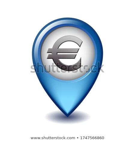 Euro waluta kierunku finansowych symbol Zdjęcia stock © Lightsource