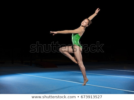 portrait of a young gymnast Stock photo © master1305