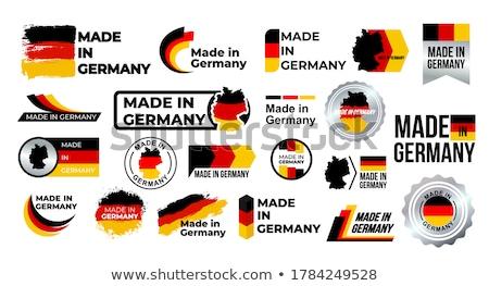 Garantía garantizar sello amarillo vector botón Foto stock © rizwanali3d