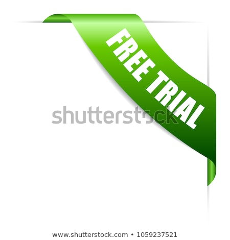 Try Now Green Vector Icon Design Stock photo © rizwanali3d