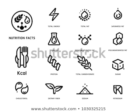 Nutrient icon Stock photo © Fosin