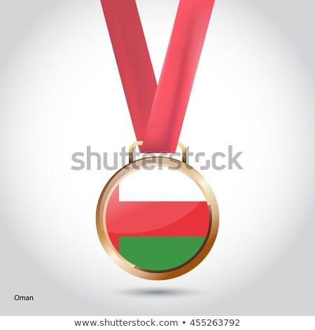 Бразилия Оман флагами головоломки изолированный белый Сток-фото © Istanbul2009