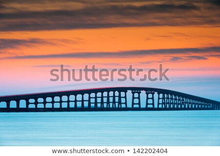 Sunset on the Outer Banks Stock photo © wildnerdpix