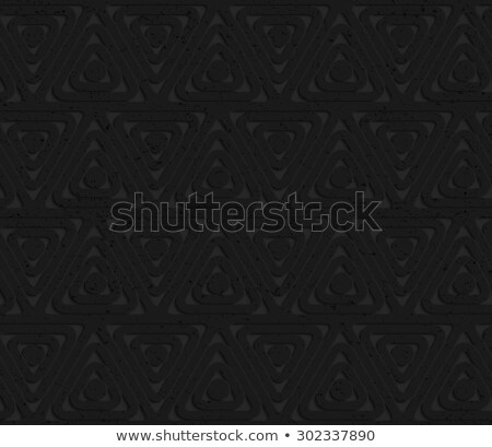 Siyah plastik soyut geometrik Stok fotoğraf © Zebra-Finch