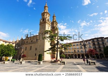 大聖堂 · スペイン · ラ · サンタクロース · ヨーロッパ · 海岸 - ストックフォト © lunamarina