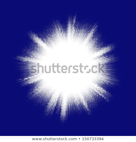 Blue color design with a burst. EPS 10 Stock photo © beholdereye