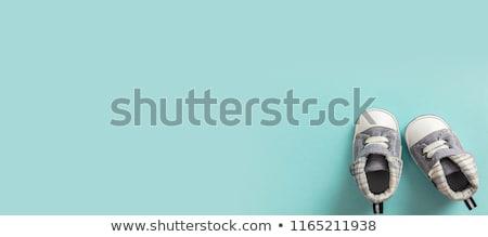 Zdjęcia stock: Male Baby Shoes