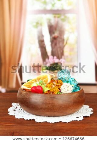 Diamond Fruit Bowl Stock photo © rghenry