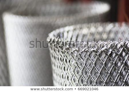 Foto d'archivio: Acciaio · filo · acciaio · inossidabile · texture