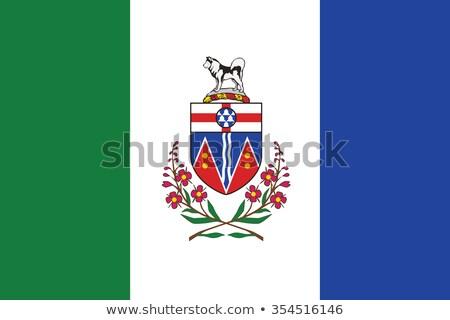 Flag of Yukon Stock photo © Lom