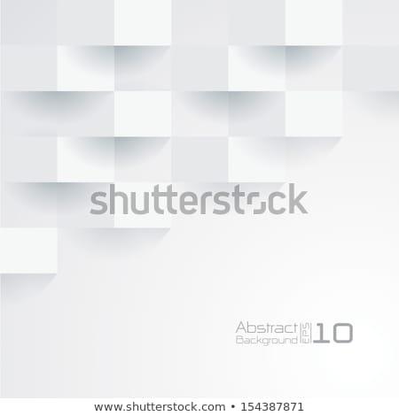 gri · perspektif · mozaik · arka · plan - stok fotoğraf © expressvectors