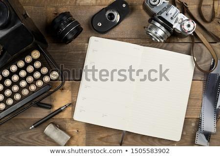 Foto stock: Velho · tecnologia · filme · foto · textura · fundo