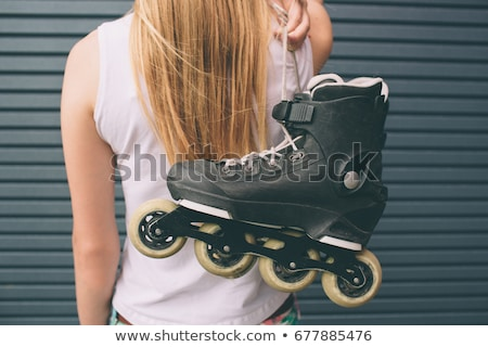 Stock photo: inline skaters