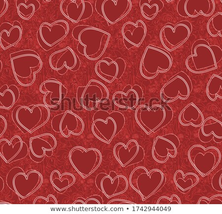 Heart for love, romantic bright tone theme Stock photo © JanPietruszka