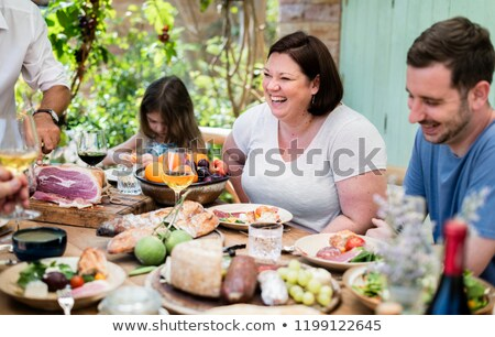 Shared cold cuts Stock photo © Walmor_