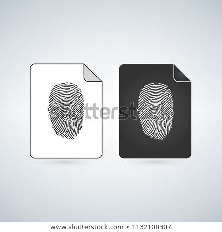 Temp Document file vector icon withclock icon. flat sign for mobile concept and web design. Paper do Stock photo © kyryloff