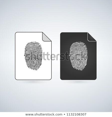 document · fichier · vecteur · icône · signe · mobiles - photo stock © kyryloff
