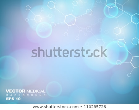 blue molecules background for science and medical healthcare Stock photo © SArts