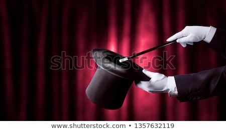 Magician hat, circus and magic Stock photo © studiostoks