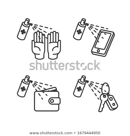 telefoon · dollar · mobiele · betaling · geld · symbool - stockfoto © smoki