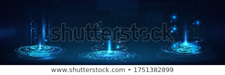 Futuristic Interface Hud Design, Infographic Elements,Tech and Science, Analysis Theme, Template UI  Stock photo © smeagorl