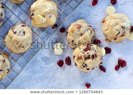 Christmas cookies vruchten jam vulling glazuursuiker Stockfoto © homydesign