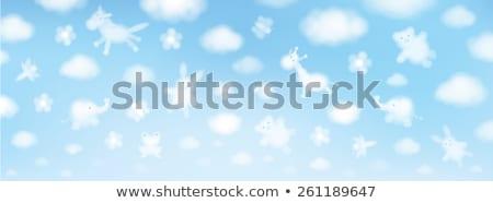 Joaninha bebê joaninhas voar feliz fundo Foto stock © Olena