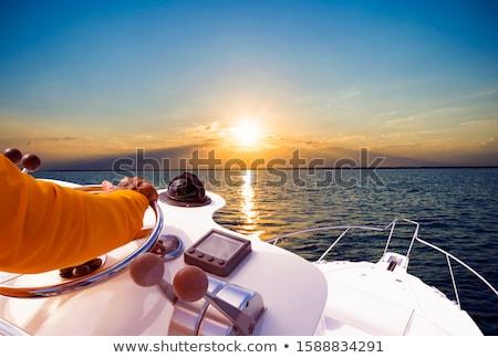 рук моряк воды морем лет Сток-фото © galitskaya
