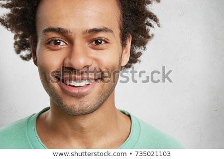 молодые · африканских · человека · пляж · портрет · афроамериканец - Сток-фото © deandrobot