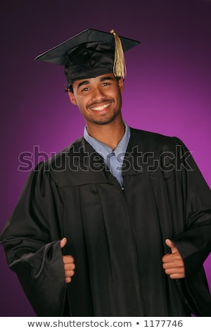 Active male students representing emotion  Stock photo © Blue_daemon