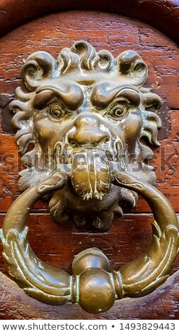 Vintage door knob from Eix-en-Provence in France Stock photo © boggy