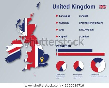 Inglaterra Reino Unido elementos vector móviles Foto stock © pikepicture