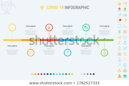 Covid-19 infographic template. 6 steps to prevent coronavirus, designed with beautiful colors. Vecto Stock photo © ukasz_hampel