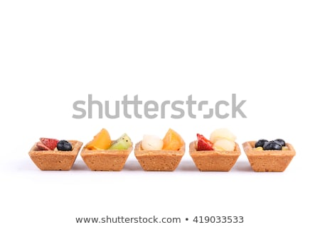 assorted mini fruit tarts stock photo © aladin66