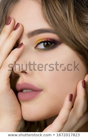 Gorgeous young model girl. Stock photo © lithian