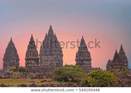 Hindu temple Prambanan Stock photo © swisshippo