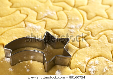 Shooting Star Shaped Cookie Cutter Stock photo © ildi