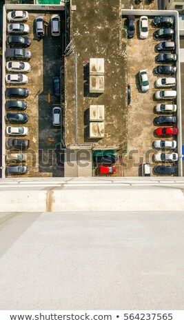 Widoku parking 16 drogowego budynku Zdjęcia stock © RuslanOmega