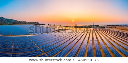 solar industry Stock photo © ssuaphoto