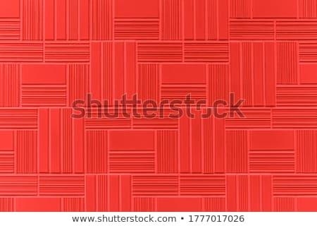 Red granite masonry wall closeup background. Stock photo © Leonardi