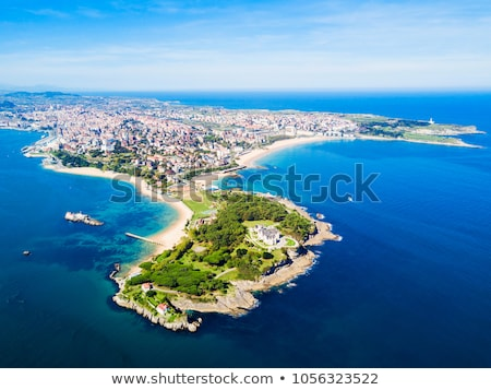 Stock photo: Beach of Santander, Spain