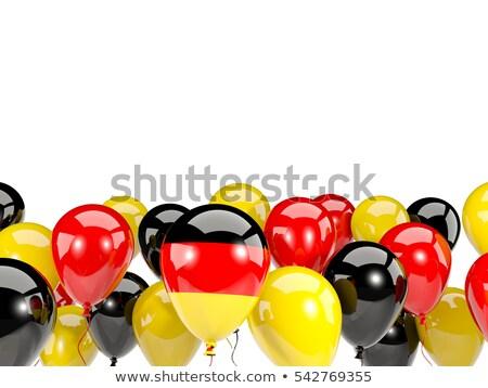 balloon of German flag Stock photo © experimental