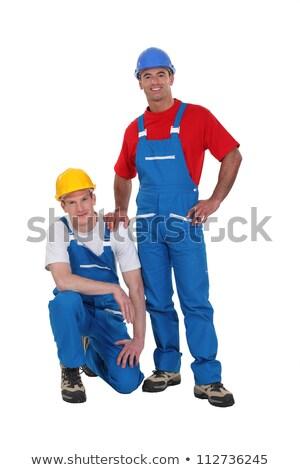 Tradesmen posing for the camera Stock photo © photography33
