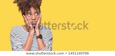 Portret kobieta okulary biały Zdjęcia stock © wavebreak_media