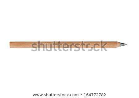 wooden pencils Stock photo © Marcogovel
