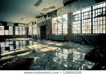 Abandoned Industrial Facility Stock photo © oliverjw