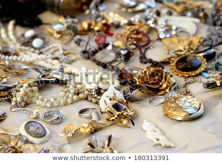 Purchase and sale of old jewels Stock photo © Gilles_Paire