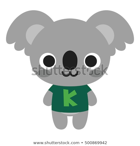 Vector icon toy koala Stock photo © zzve